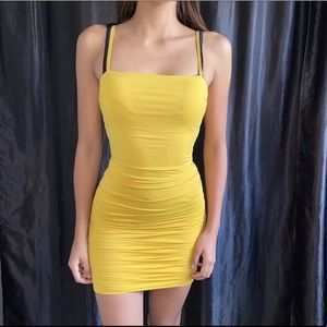 Brand new body-con dress from tiger mist 🐅💛